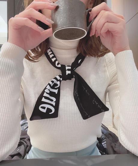 【再販決定! 1/26】MERUE SCARF/ black