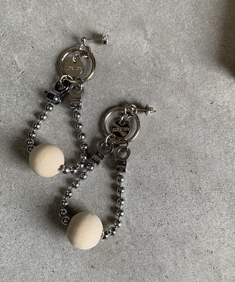 WOODBEADS MIX BALL CHAIN DESIGN