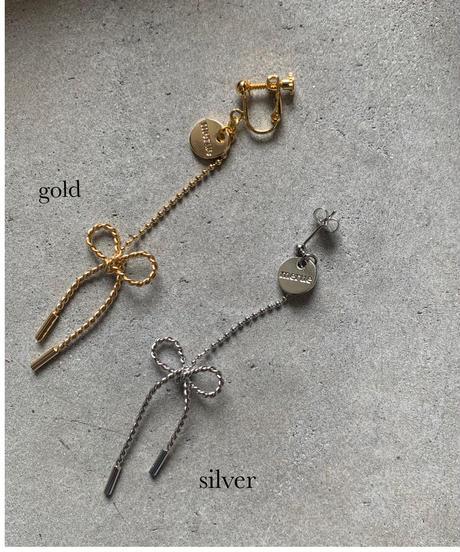 RIBBON HANGING  / gold