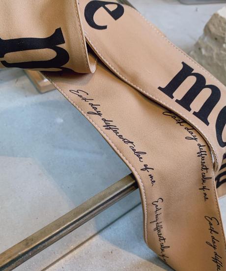 【再販決定! 1/26】MERUE SCARF /beige