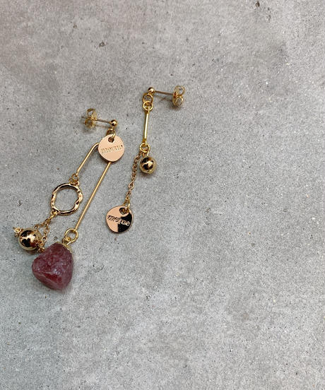 GEMSTONE BALANCE  EARRING