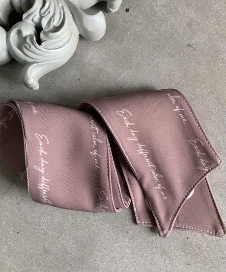 last order 4/6 20:30〜 MERUE SCARF/ pink