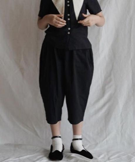 Casual pants(black)