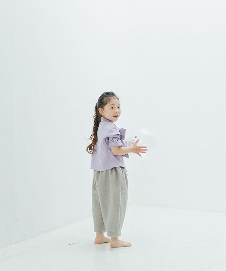 Big bow tie blouses (lavender)