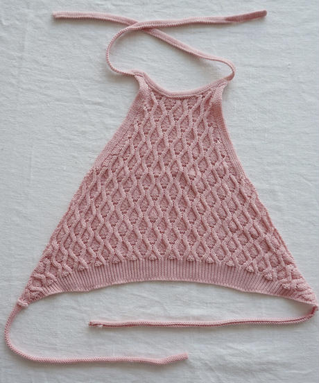 Knitted top (pink)