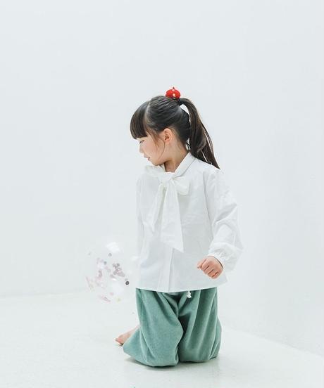 Big bow tie blouses (white)