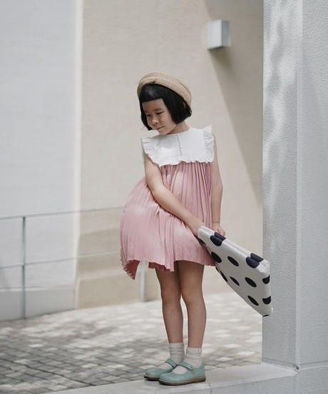 Ruffled dress(Pink)