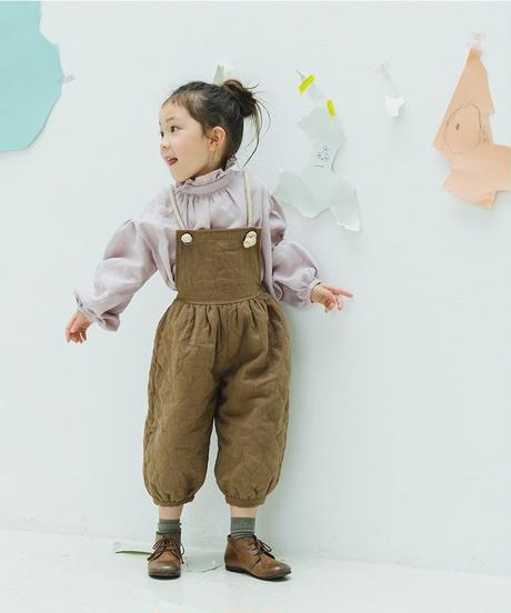 Quilted Jumpsuit (brown)