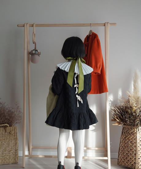 Padded dress(Black)