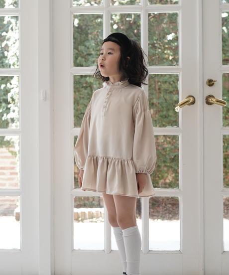 Lace collar dress (Mint Cream)