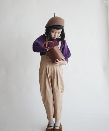 Suspender trousers (Camel)