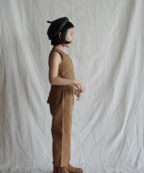 Straight-leg pants (brown)