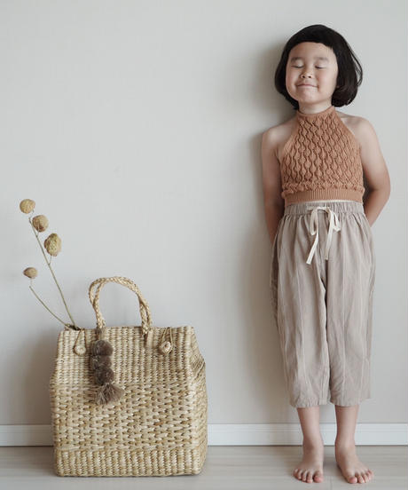 Knitted top (caramel)