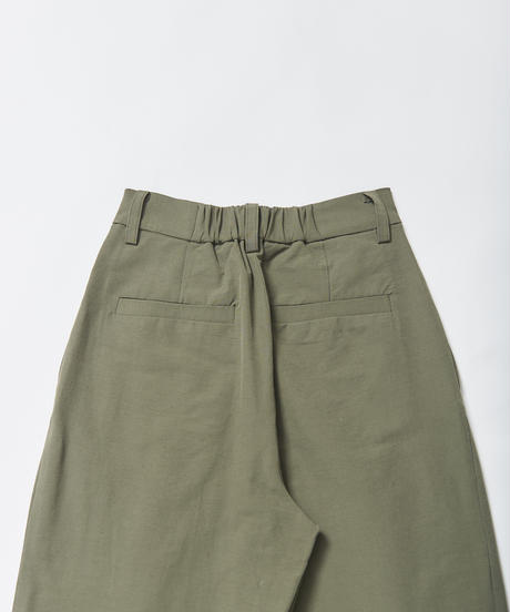 【入荷】 HIGH STRECH  TWO-TUCK PT(Khaki)
