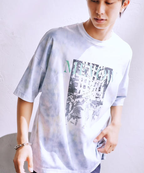 【7.14(WED)19:45-Pre-order】MEVOW  GRAPHIC TAIDAI T(Blue)