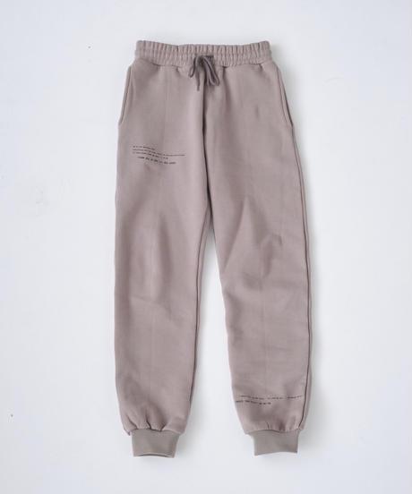 MEVOW ONEMILE SETUP PANTS (Greige)