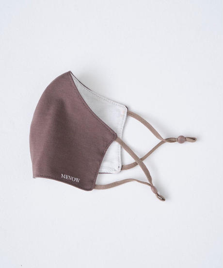 【1.19(tue)20:00~ PRE-ODER】MEVOW ORIGINAL MASK (Brown)