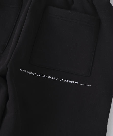 MEVOW ONEMILE SETUP PANTS(Black)