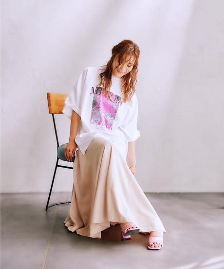 【9.11(SAT)21:00-Re-stock】MEVOW  GRAPHIC T(White)