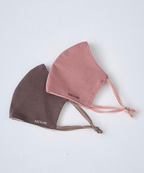 【1.19(tue)20:00~ PRE-ODER】MEVOW ORIGINAL MASK (Dusty Pink)