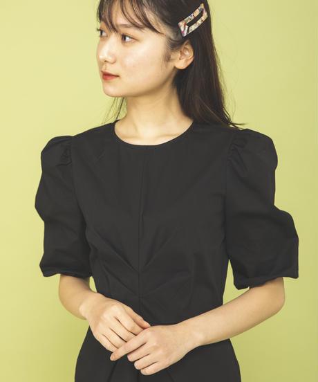フロントギャザーワンピース【4月上旬発送予定】