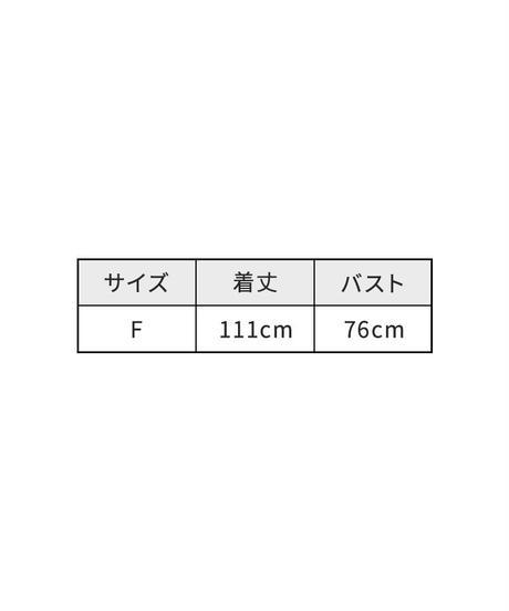 サイドスリットノースリーブワンピース【4週間程度で発送予定】