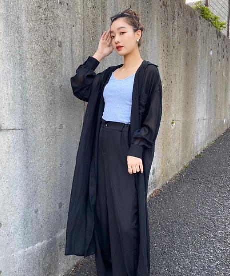 スキッパーシャツワンピース【7-10日程度で発送予定】