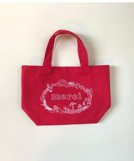 atsumi オリジナル「merciミニトートバッグ」