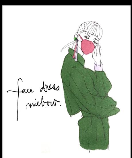 face dress  / NEW   /  ORDER