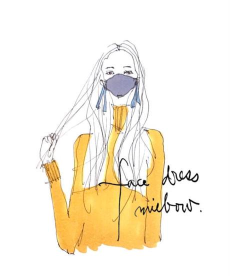 face dress  / monotone.etc