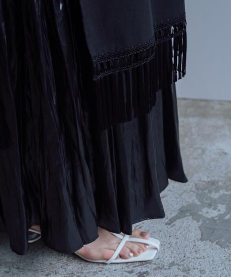 花を着るブラウス#04【睡蓮】-long-