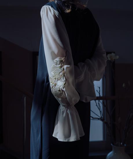 〈再販〉花を着るワンピース#02【ハクモクレン】