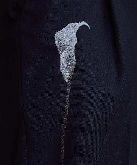 花を着るスラックス【カラー】-mono-
