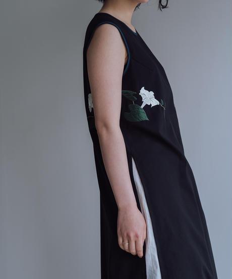 花を着るブラウス#04【夕顔】-long-