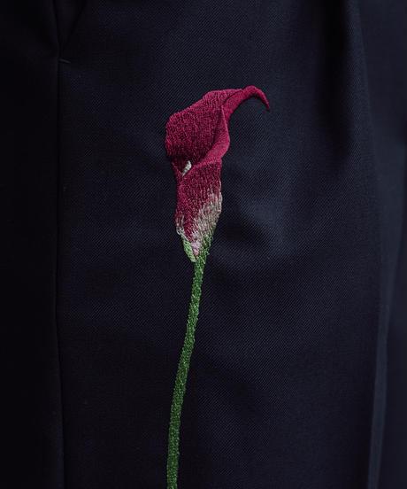 花を着るスラックス【カラー】-color-