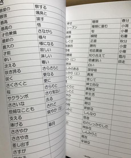 折り句辞書1冊