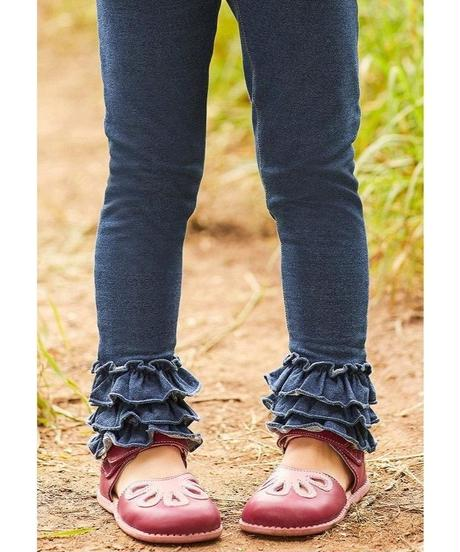 Girls' Ruffle Jegging