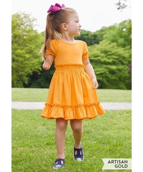 Girls' Lap Dress