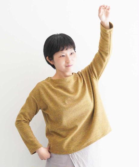 「万能!ニット風カットソー」の型紙(指南書付) +生地