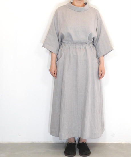 「ラウンドポケットスカート」の型紙 (指南書付)