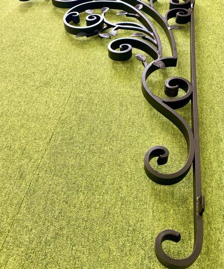 玄関屋根受けアルミ製ブラケット