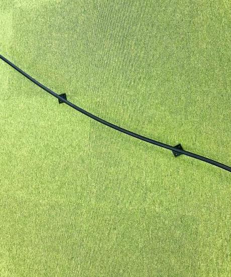 アイアン製曲線壁手すり1865mm