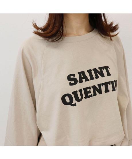 ロゴカットソー SAINT QUENTIN T3098
