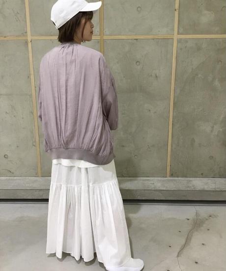 コットン2段ティアードスカート|S3007