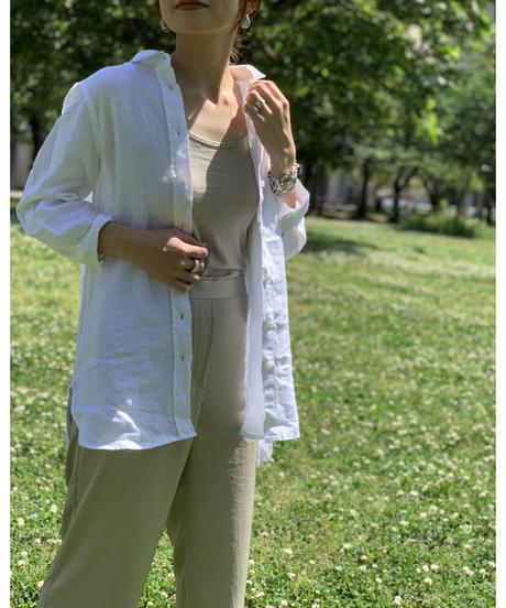 フレンチリネンロングシャツ|T2056