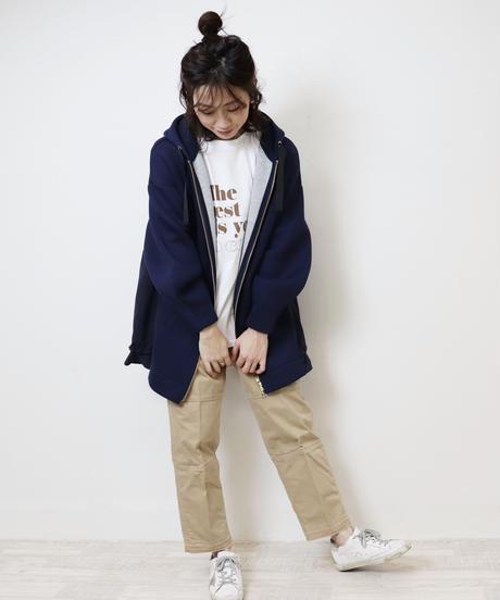 trois 別注Aライン切替パーカー T201-82012 J2003