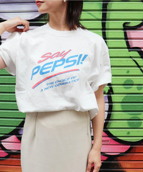 GOOD ROCK SPEED|tee|PEPSI!|21PPS005|T3059