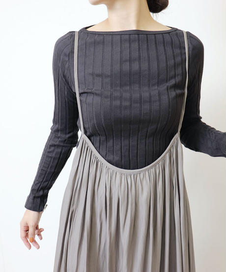 ギャザージャンパースカート A2014