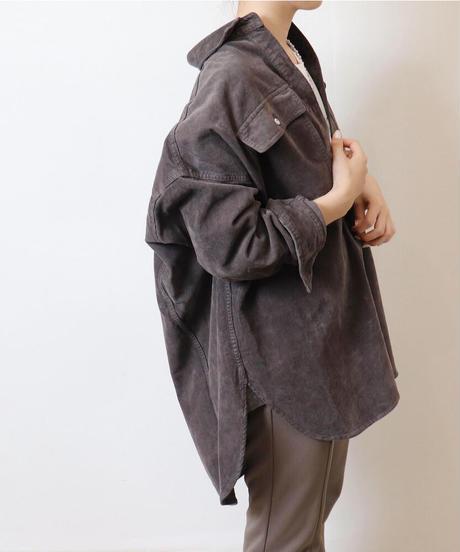 Healthy denim Almond ビッグコーデュロイシャツ J3018