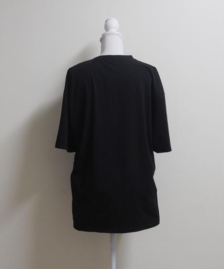 うさぎプリントTシャツ-C